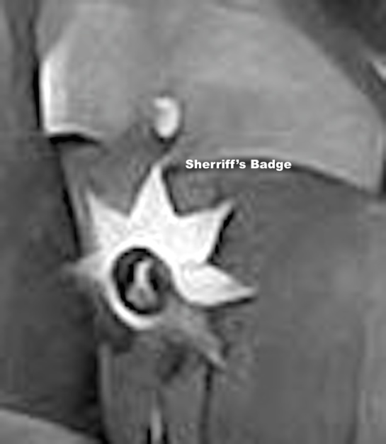 Finding the Sheriff's Badge
